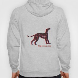 Greyhound Dog | Animal Art Design Hoody