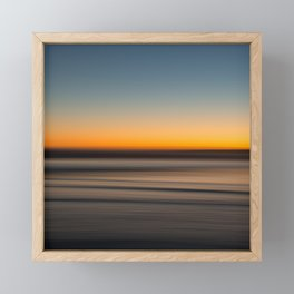 Seascape 013 Framed Mini Art Print
