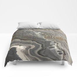 cozy marble Comforters