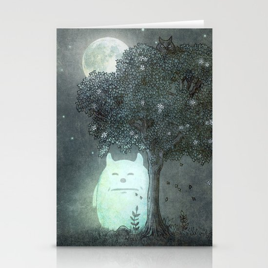 Full Moon Spirit  Stationery Cards