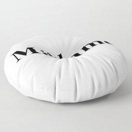 109. Mrs Floor Pillow