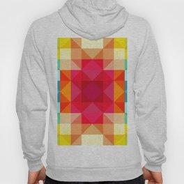 Abstract Geometric Flower Power Hoody