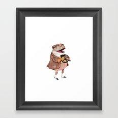 Mr. Toad Framed Art Print