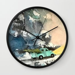 SK's Old 57' Wall Clock