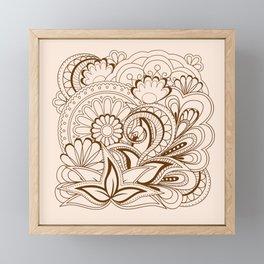 zen composition with mandalas Framed Mini Art Print
