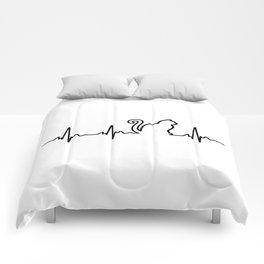 Cat Heartbeat Comforters