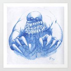 Mad Horror  Art Print