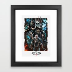 The Witcher Wild Hunt Framed Art Print