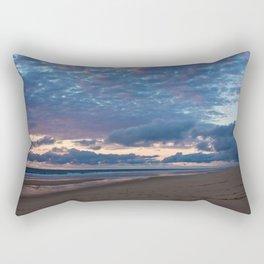 sky above the atlantic ocean Rectangular Pillow