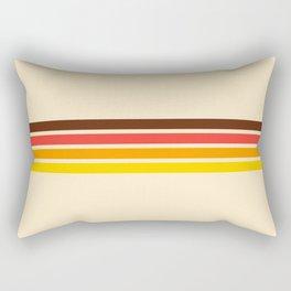 African Retro Stripes Rectangular Pillow