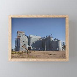 Elevators, Goodrich, North Dakota 1 Framed Mini Art Print