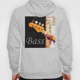 Bass Guitar neck , musical instrument  Hoody