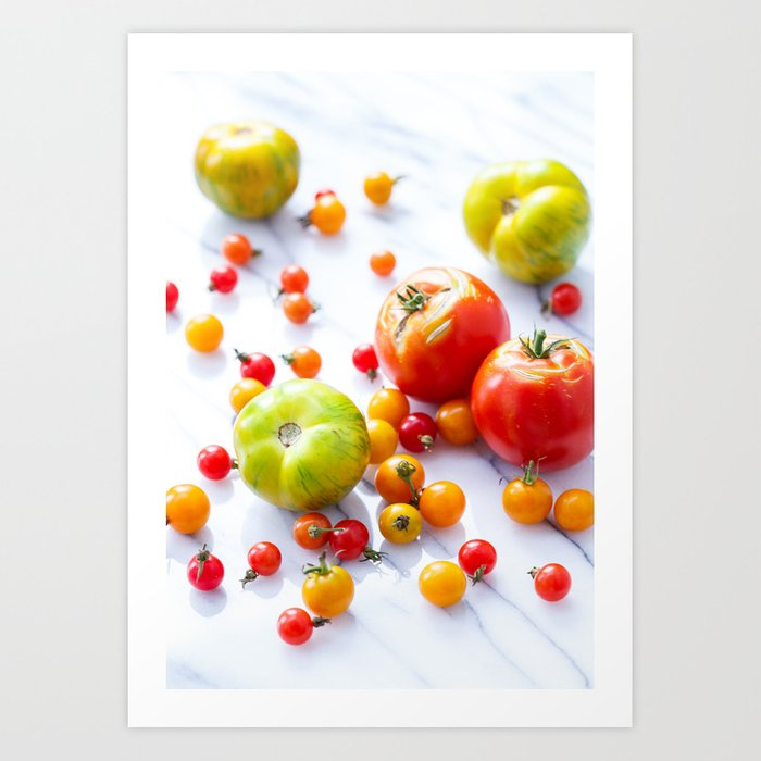 Tennessee Tomatoes Art Print