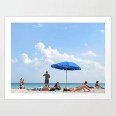 Beachin' Art Print