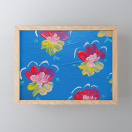 New Harbor Rose Framed Mini Art Print