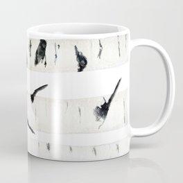 birch  watercolor Coffee Mug
