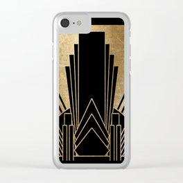 Art deco design Clear iPhone Case