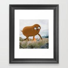 Bacon Pancakes Framed Art Print