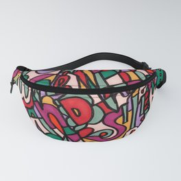 Jammin' Good (Berry) Fanny Pack