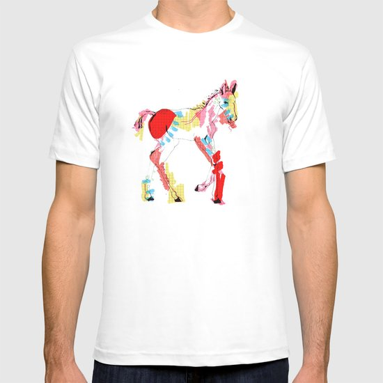 Baby horse colour T-shirt