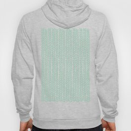 Knit Wave Mint Hoody