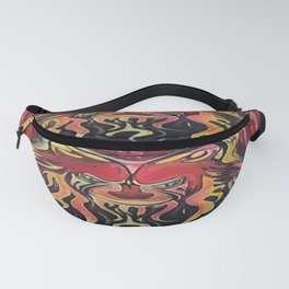 Fire Wolf Fanny Pack