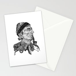 Jacques Cousteau Stationery Cards