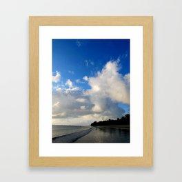 Into nature Framed Art Print