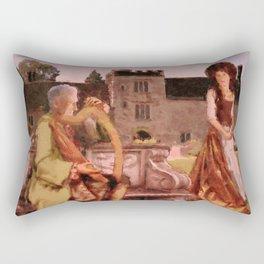 Turlough O'Carolan and Mrs Judge Rectangular Pillow