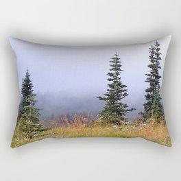 High Upon A Mountain Rectangular Pillow