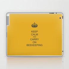 Keep Calm and Carry on Beekeeping Laptop & iPad Skin