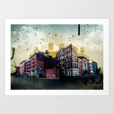 A New York City Street Art Print