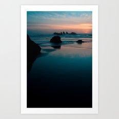 bandon beach blues. Art Print