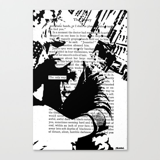 The Only Way Canvas Print