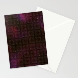 Starfield Grid Stationery Cards