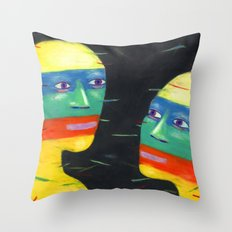 Jet Set Throw Pillow