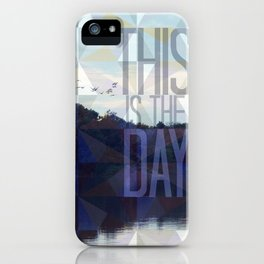 This is the Day Christian Design iPhone Case