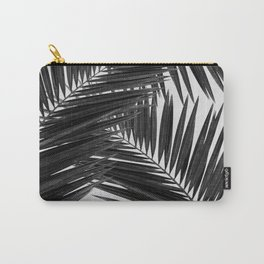 Palm Leaf Black & White III Carry-All Pouch