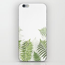 Fern Leaves iPhone Skin