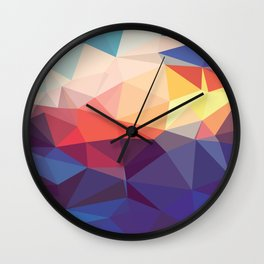 Prism Power #3 Wall Clock