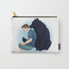 Sterek wolf kisses print Carry-All Pouch