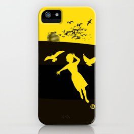 Alfred Hitchcock's The Birds iPhone Case