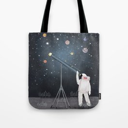 Astronaut Astrology Tote Bag