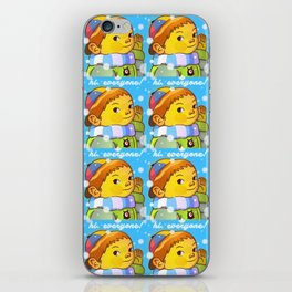 hi.everyone! iPhone Skin