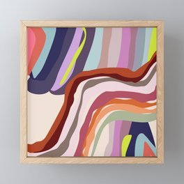 Id, Ego and Superego abstract and colorful Framed Mini Art Print