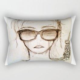 Hang On For Me Rectangular Pillow