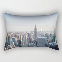 Towers - City Urban Landscape Photography Rectangular Pillow
