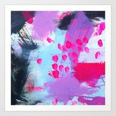 Water sprinkle: deep analysis Art Print