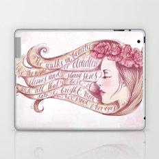 She Walks in Beauty Laptop & iPad Skin