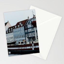 Nyhavn | Colourful Travel Photography | Copenhagen, Denmark Stationery Cards